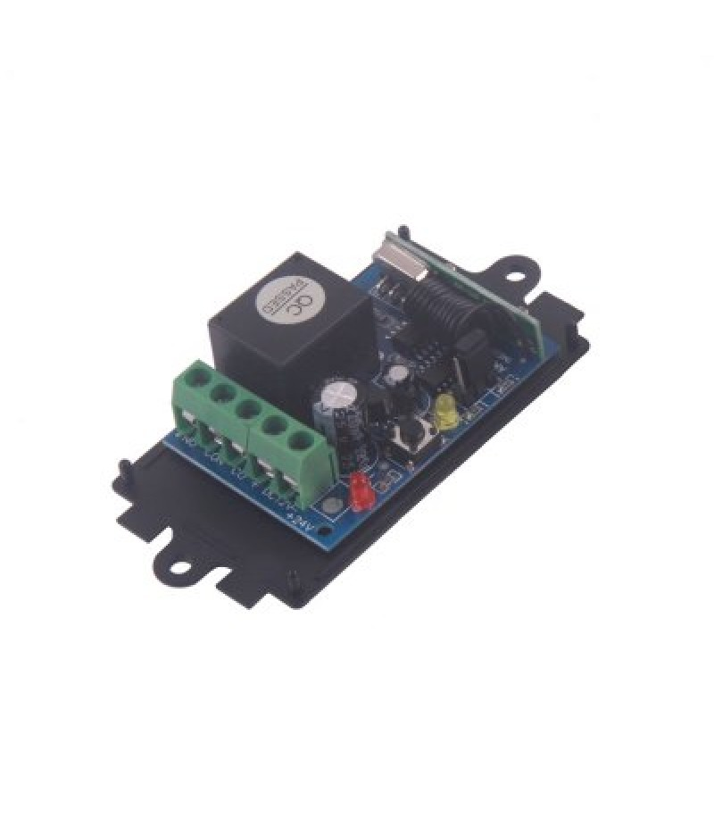 DC12V Single Channel Wireless Remote Control Switch for Learning  -  Ellipse Mode