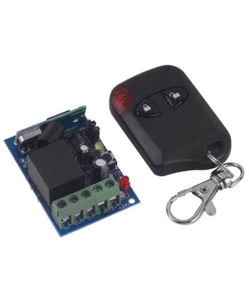 High Security One Channel DC12V Wireless Remote Control Switch  -  Unlock  Lock Keys