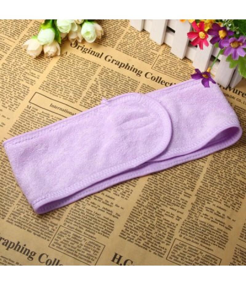 Uitlity Cotton Headband Makeup Hairband Towel Turban