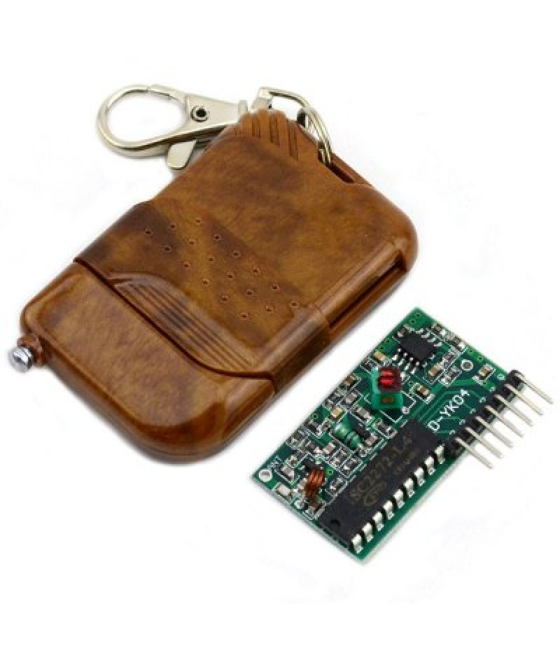 2272  -  M4 Non  -  Lock 4 Way Wireless Remote Controller Module + Receiving Panel Set for DIY