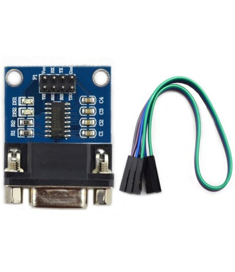 RS232 Serial Port To TTL Converter Module with Transmitting  Receiving Indicator Light for Lear