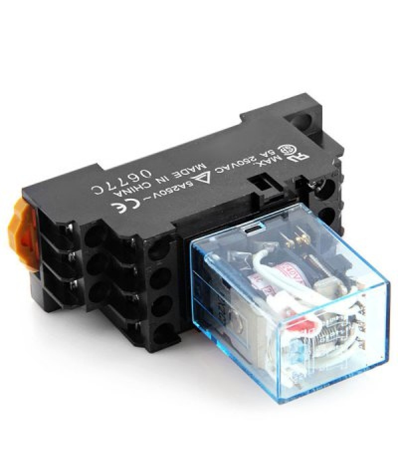 Practical AC 220  240V 5A Electromagnetic Relay for DIY Project