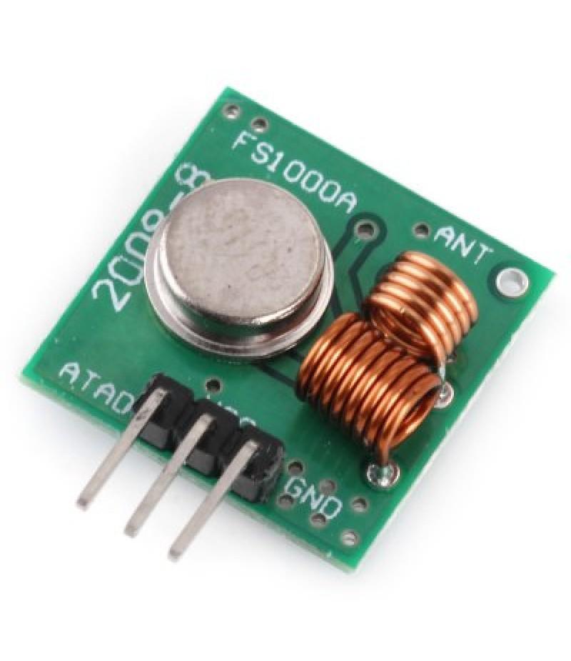Arduino Compatible MX  -  FU1 315MHz Wireless Transmitter Module Superregeneration