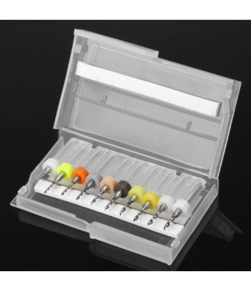 10Pcs PCB Shank Drill Set for Mechanic Reparing Maintainance Engineering Electronic Drill