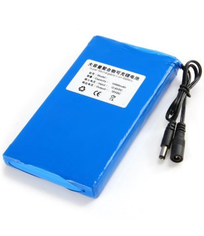 12000mAh Super Rechargable Li-ion Battery