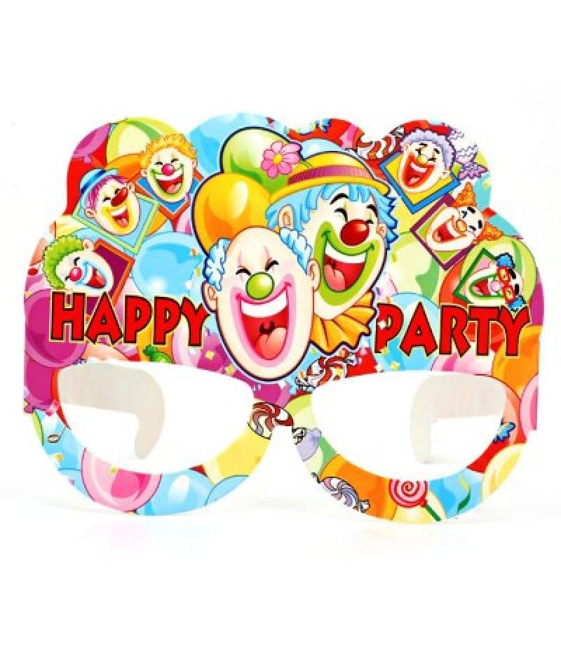 Happy Clown Design Paper Eye Mask