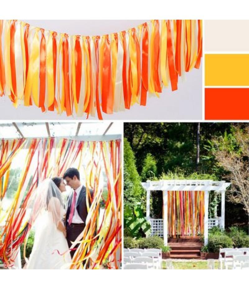 1m Tasseled Ribbon Wedding Ornaments