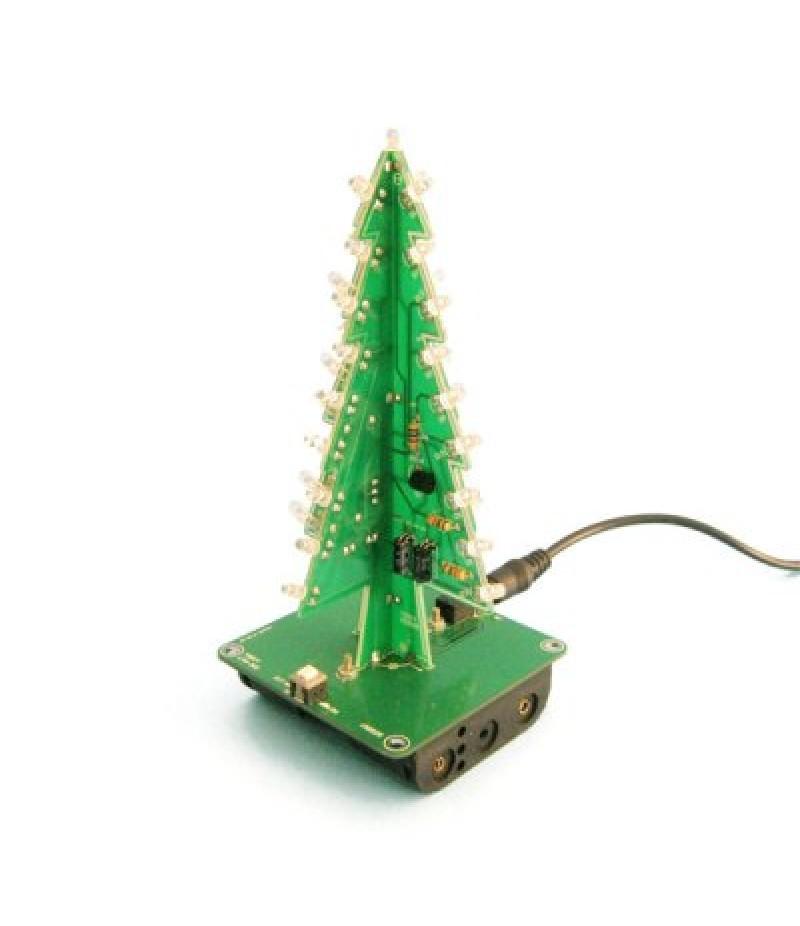 3D Christmas Tree LED Learning Kit