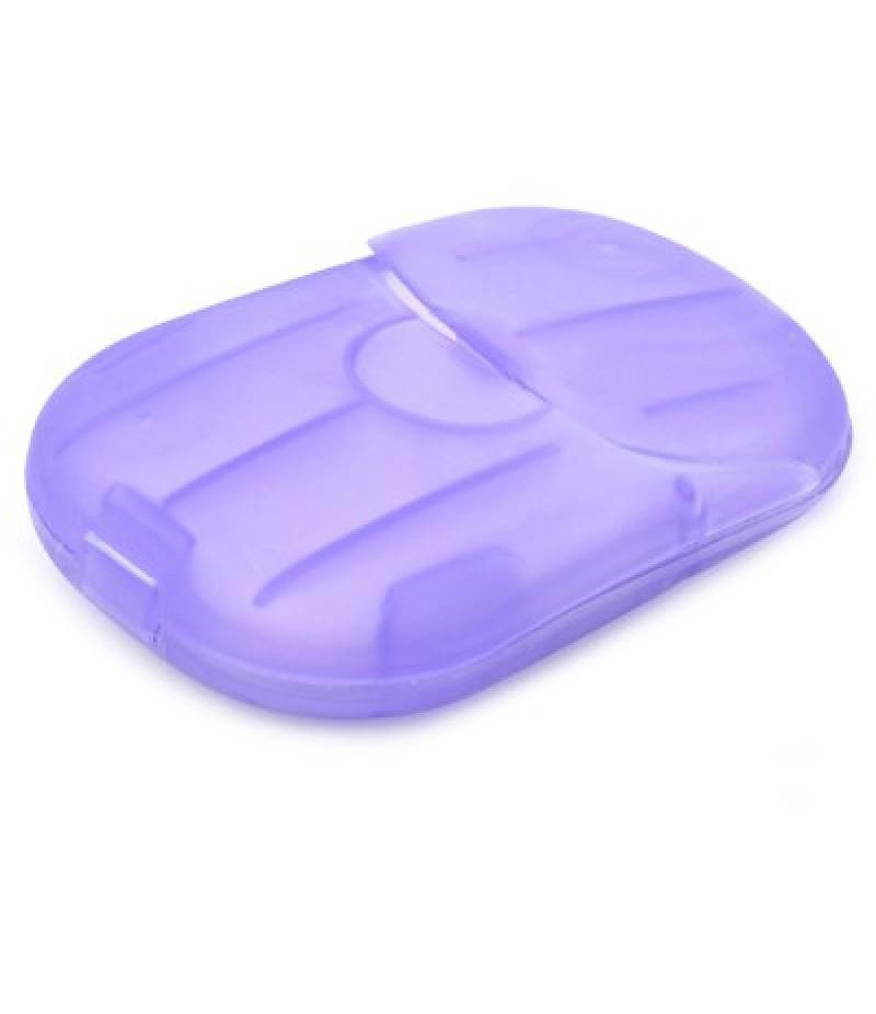 20PCS Creative Scented Foaming Travel Paper Soap