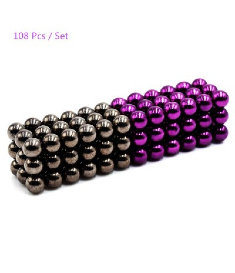 108Pcs 5mm Round Magnetic Ball