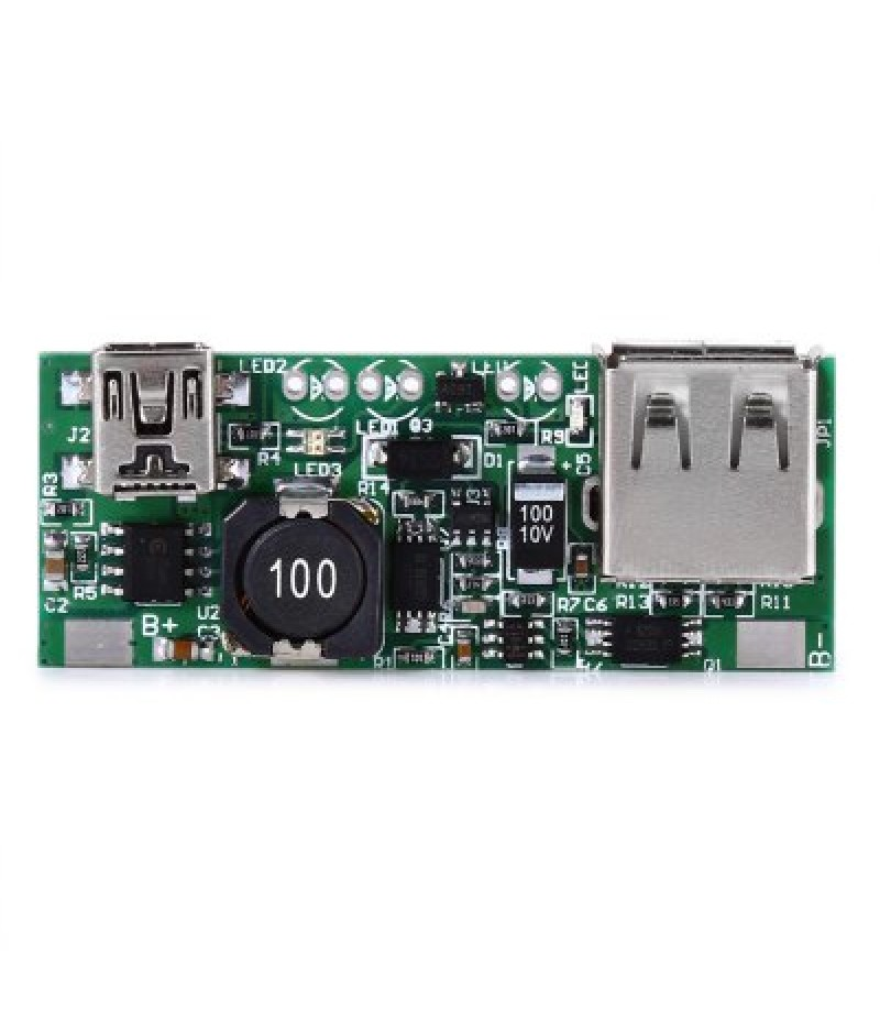 5V USB Power Bank Step-up Boost Module