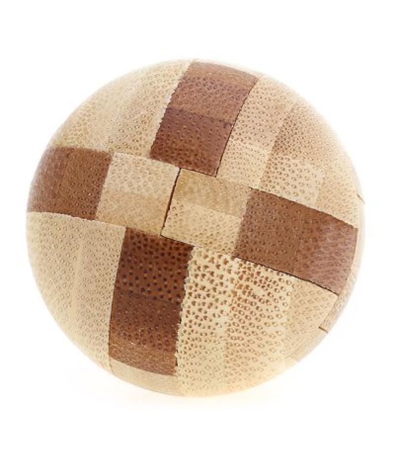 3D Interlocking Ball Wooden Burr Puzzle