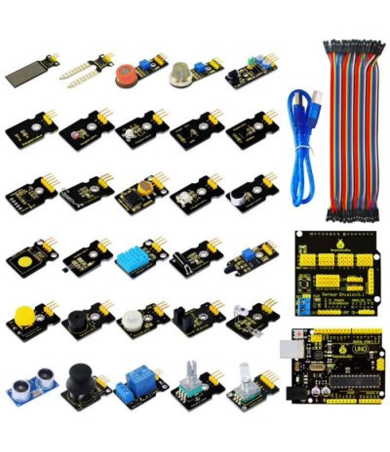 Keyestudio UNO Controller Board Sensor Module Kit for Arduino Stater DIY Project
