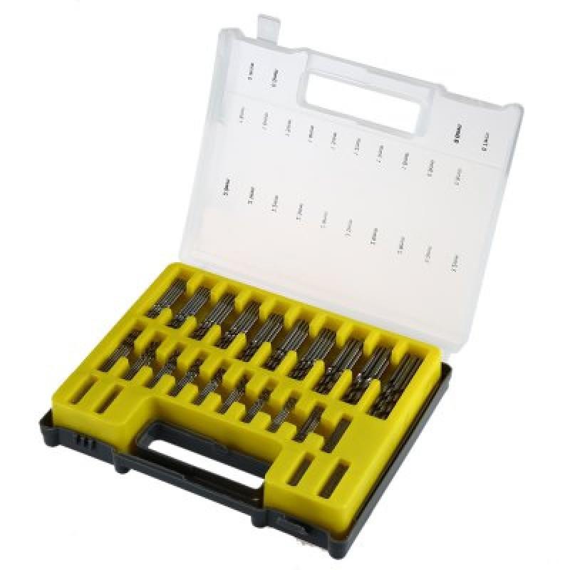 150PCS 0.4mm - 3.2mm High Carbon Steel Micro Twist Drills