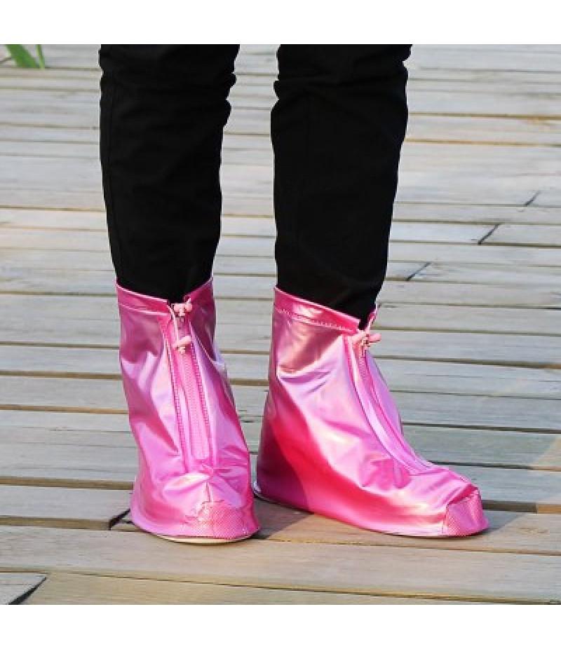Adjustable Zipper Design Water Resistance Shoe Cover