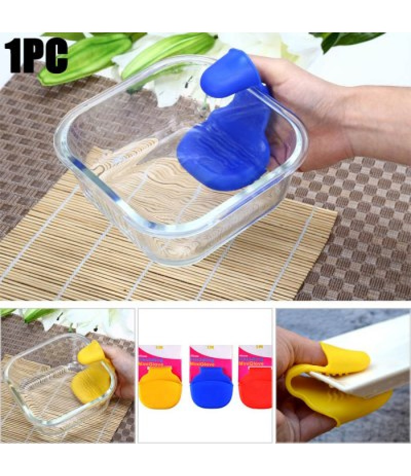 Mini Silicone Heat Insulation Gloves