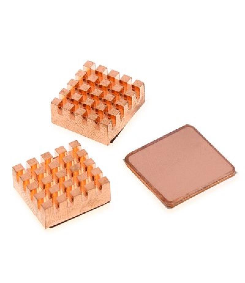 3PCS Cooling Copper Heatsinks Heat Sink DIY for Raspberry Pi