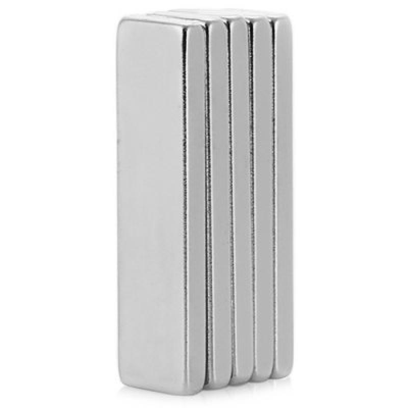 40 x 10 x 4mm N35 Powerful NdFeB Square Magnet for Kid DIY