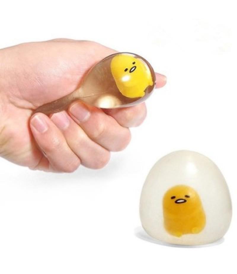 Flexible Yolk Figure Ball Vent Toy