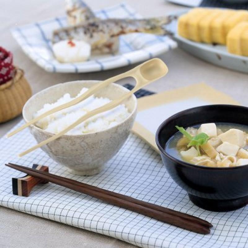 LHS TM07025 2 in 1 Chopsticks Spoon
