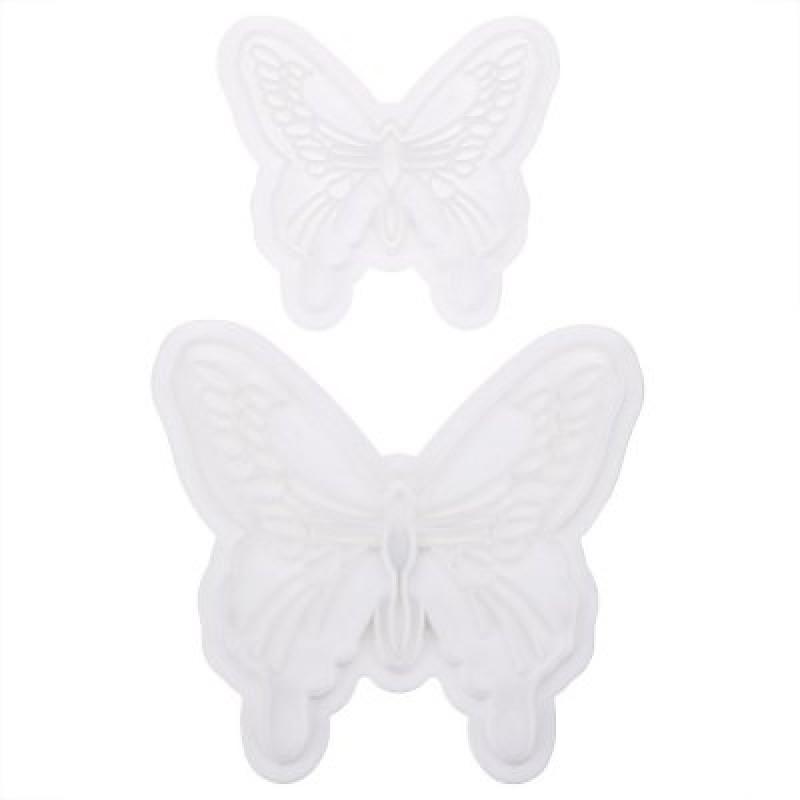 2pcs Butterfly Cake Fondant Decorating Mold