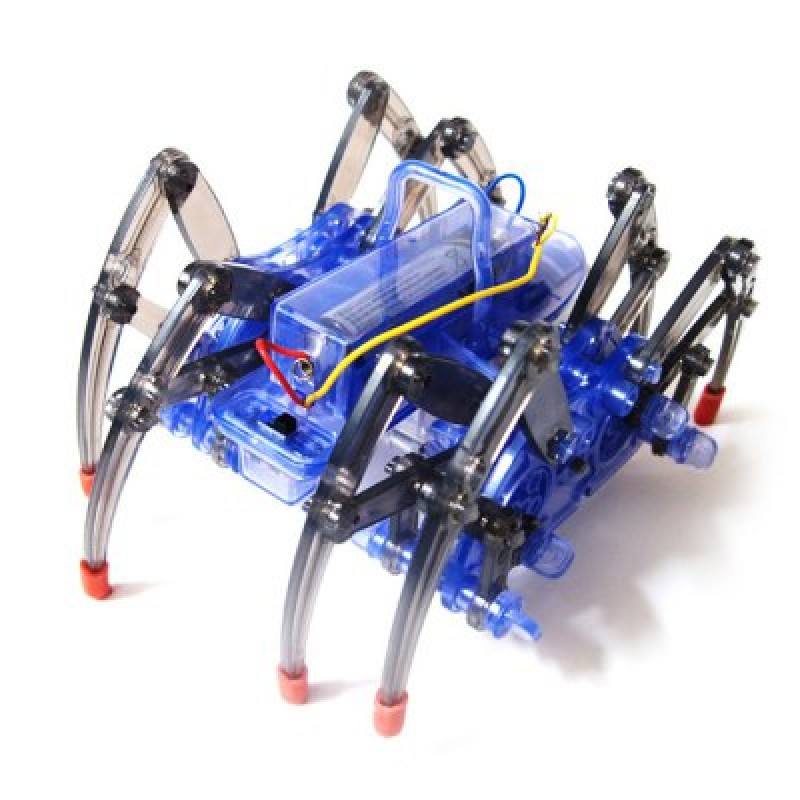Electric Spider Robot Puzzle DIY Kit Toy