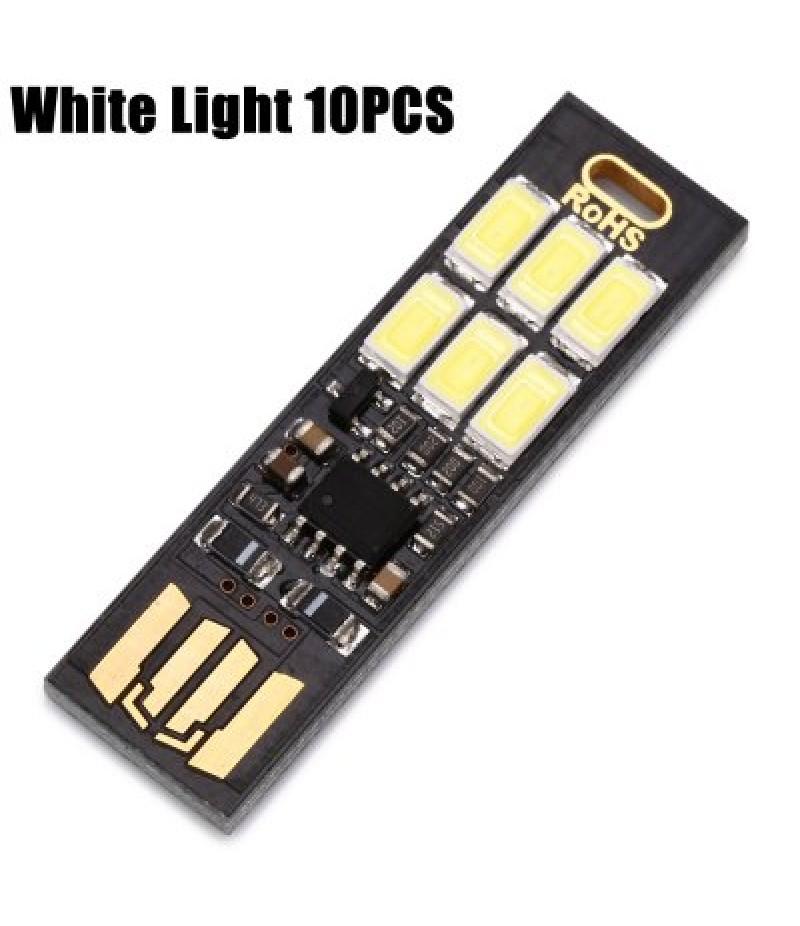 10PCS Mini USB LED Lamp Module