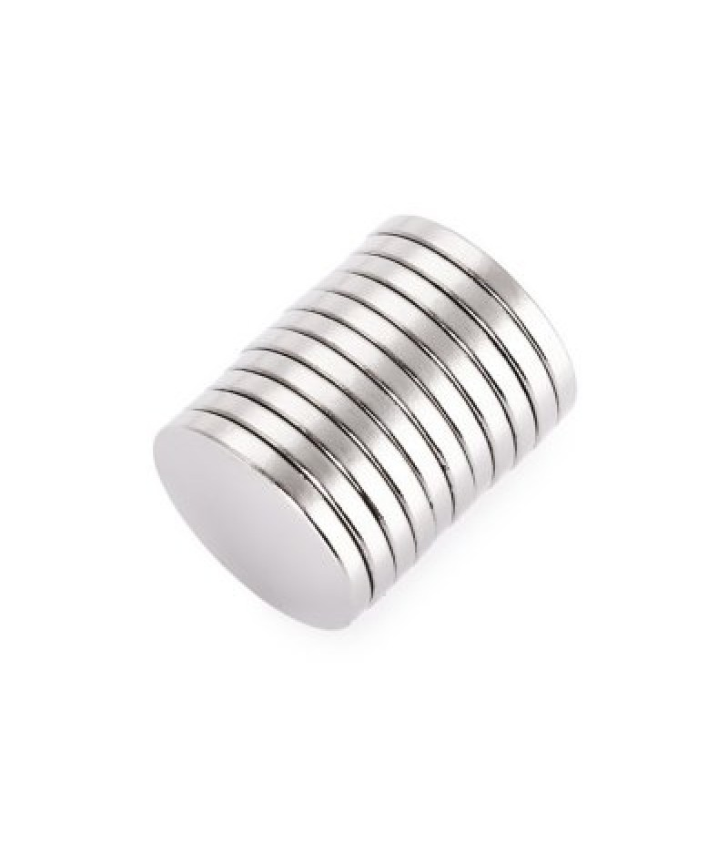 16 x 16 x 2mm N52 Powerful NdFeB Round Magnet