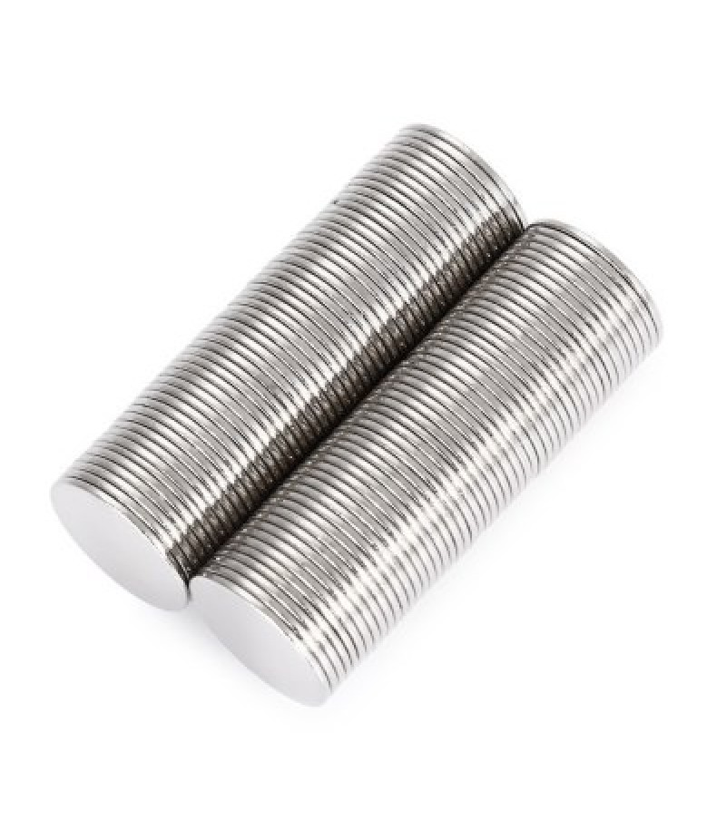 15 x 15 x 1mm N52 Powerful NdFeB Round Magnet for Kid