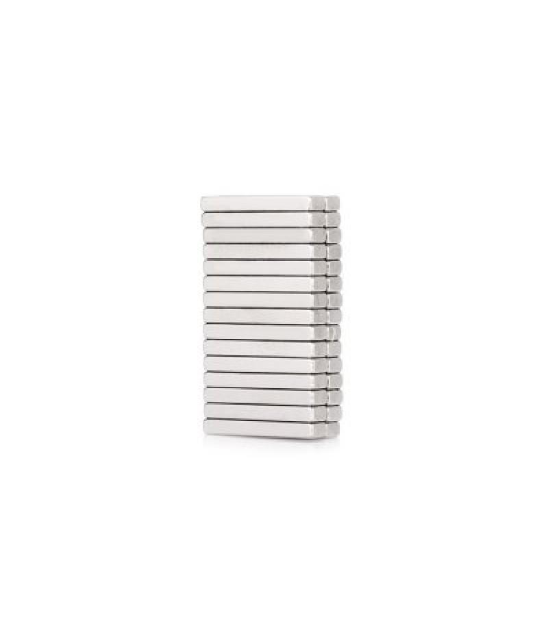 15 x 3 x 2mm N52 Powerful NdFeB Square Magnet for Kid