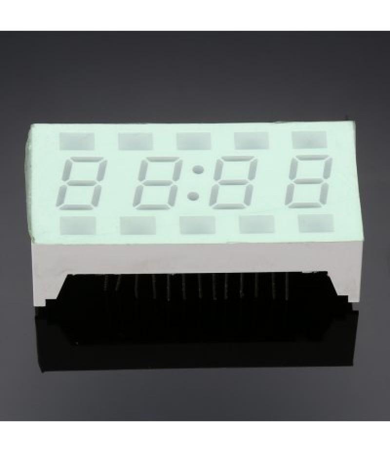 Green LED Electronic Clock Suite DIY Kits