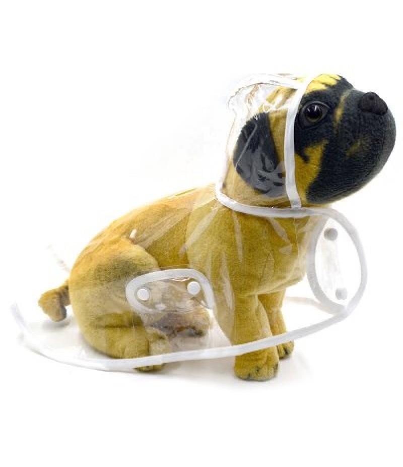 Fashion Transparent Pet Dog Puppy Rain Coat