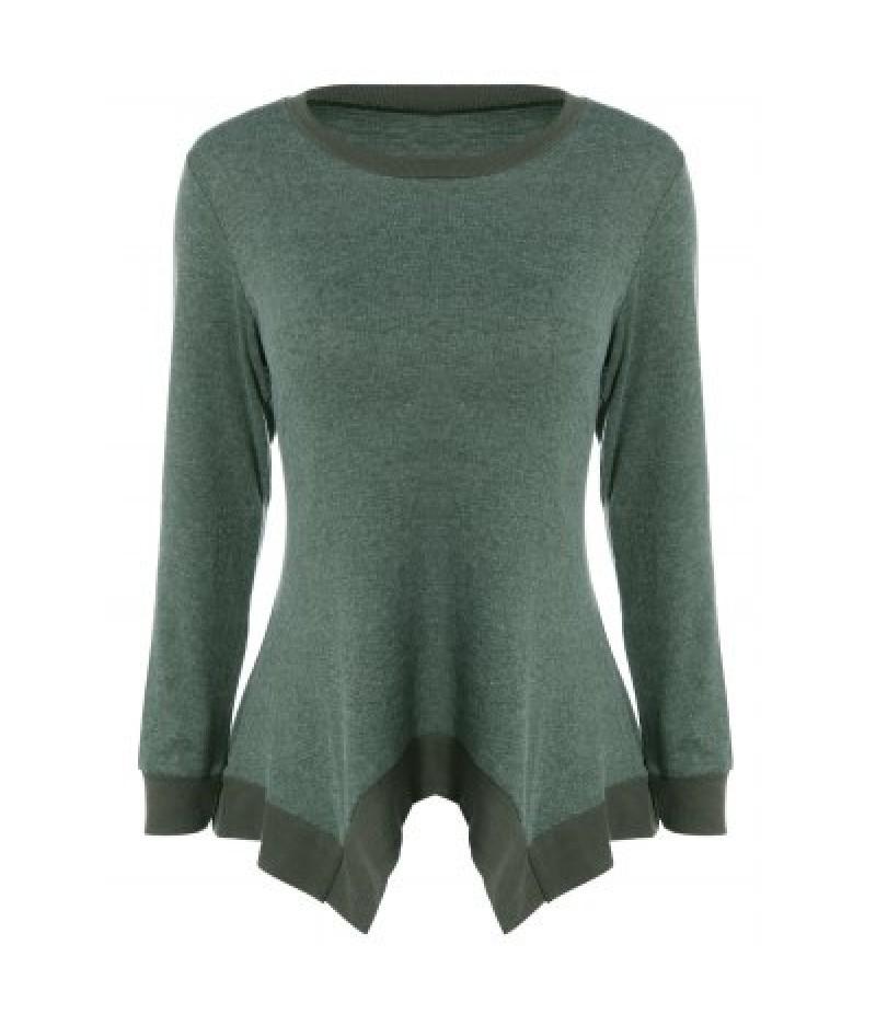 Asymmetric Loose Knitwear