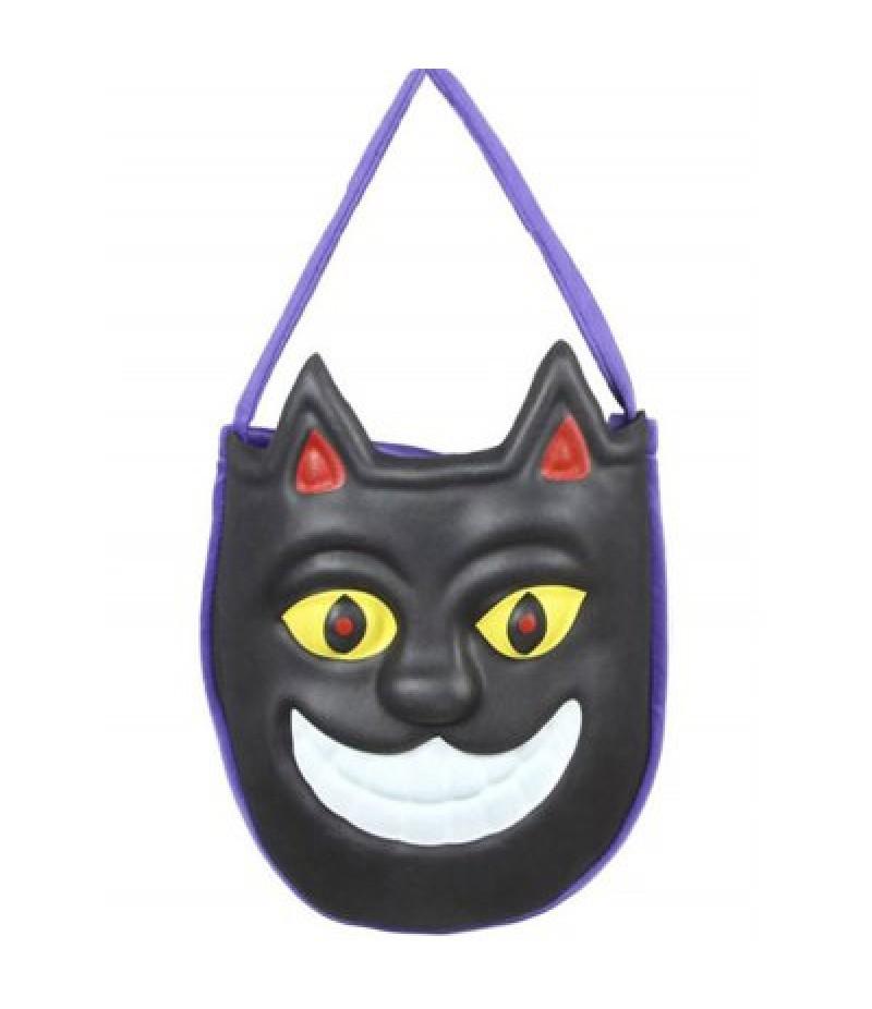 Mask Pattern Color Block Halloween Bag