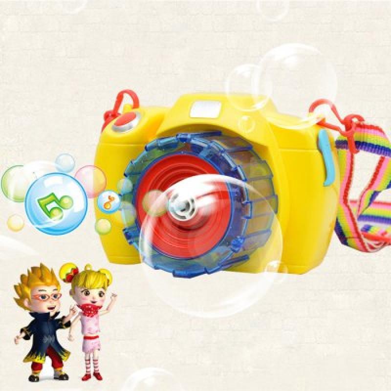 Bubble Camera Machine Toy Outdoor Indoor Fun