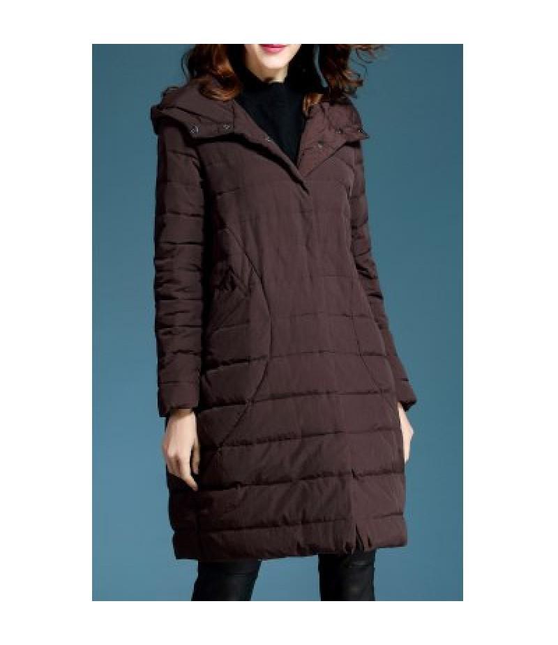 Hooded Oversized Down Coat