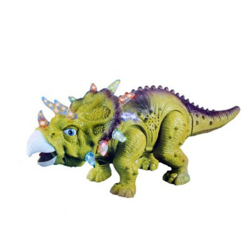 Electric Powered Children Triceratops Walking Toy