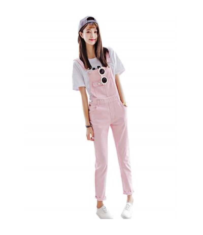 Candy Color Pink Denim Jeans