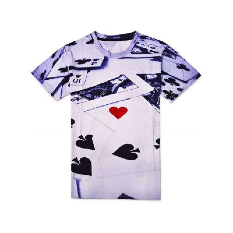 3D Printed Poker T Shirts