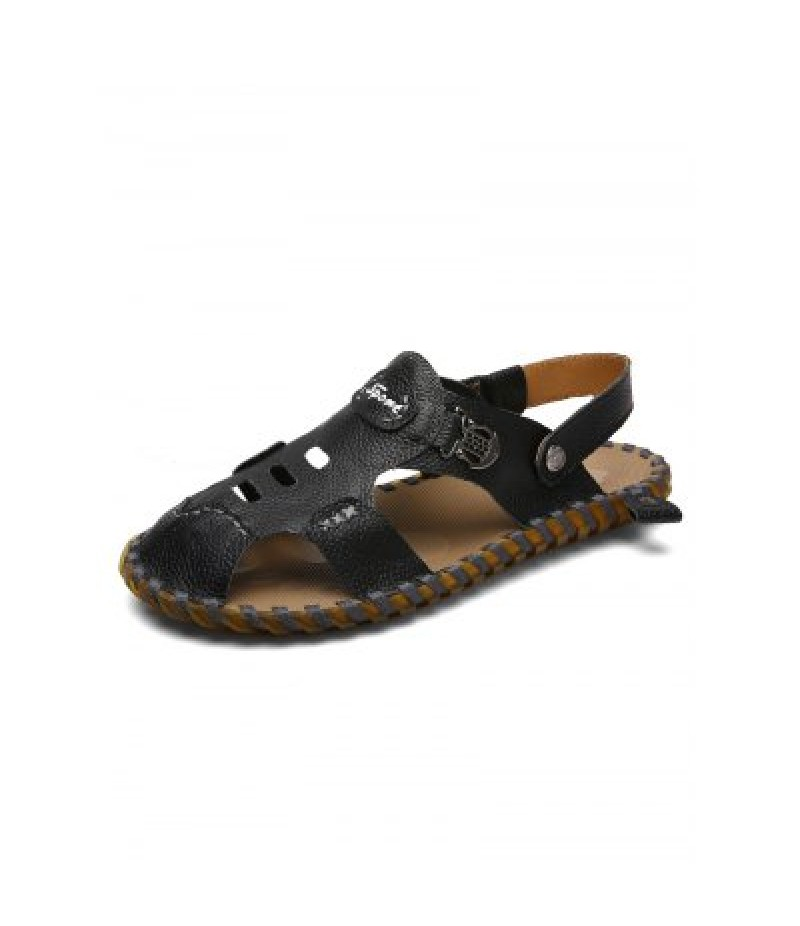 Handmade Men Leather Sandals