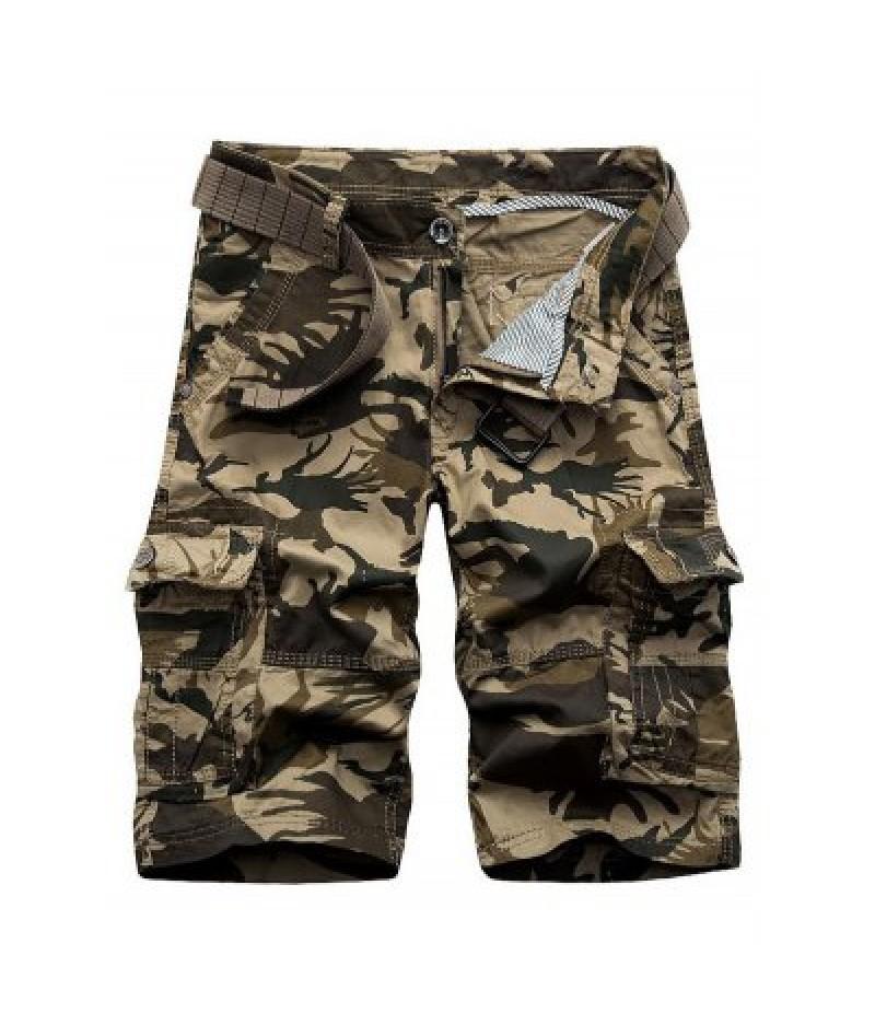 Camouflage Army Cargo Shorts