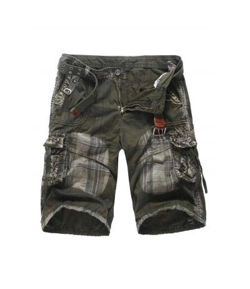 AOWOFS Camo Men\'s Cargo Shorts