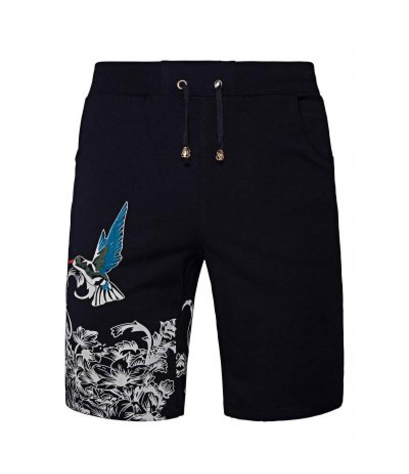 AOWOFS Drawstring Waist Men\'s Casual Shorts