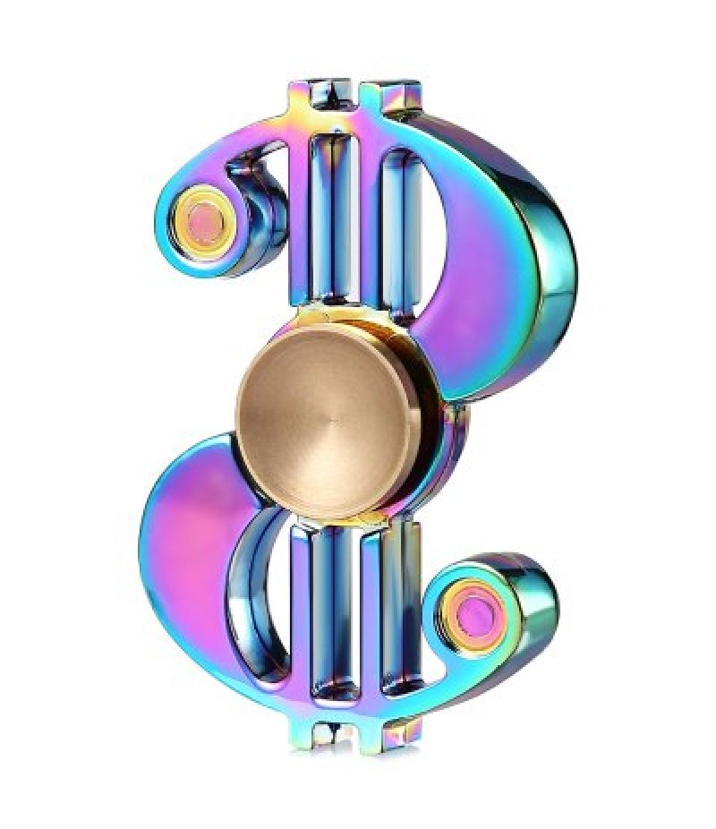 Dollar Style ADHD Fidget Spinner Hand Spinning Toy