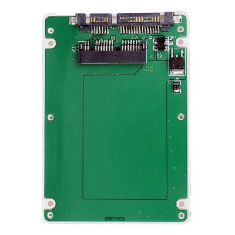 CY SA - 098 1.8 Inch Micro SATA SSD to 7mm 2.5 Inch SATA 22 - Pin Hard Disk Drive Enclosure