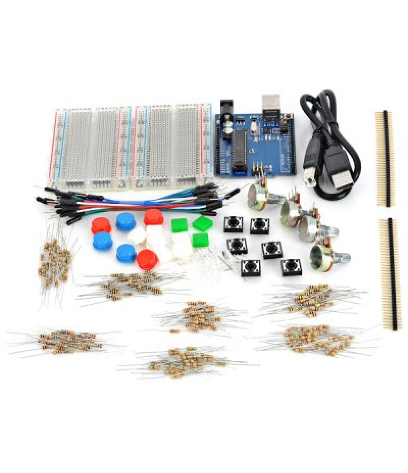 X1301 UNO R3 Development Board Starter Kit with Basic Component Pack Set for Arduino Workshop B