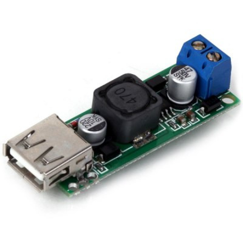 Z - 189 High Quality DIY DC 6  -  35V to 5V 3A USB Voltage Step Down Regulator Module